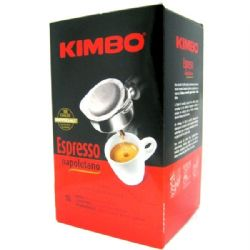 Kimbo Coffee Pods | Espresso Napoletano | Pack of 18 | Buy Online | Italian Coffee | UK